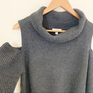 Umgee | Cold Shoulder Sweater